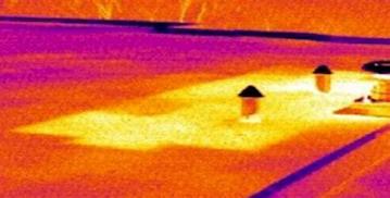 Leak detection infrared